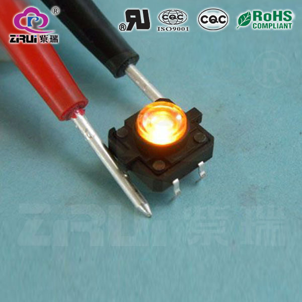 LED Tact Switch KAN1212(YL)