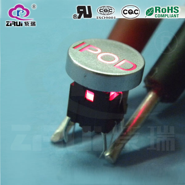 LED Tact Switch KAN66-3(RD)
