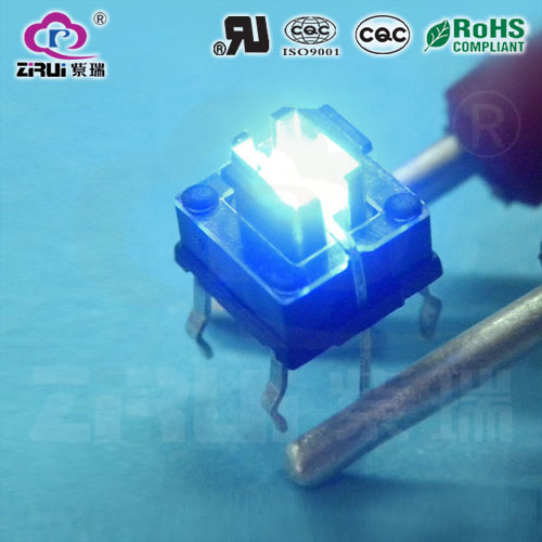 LED Tact Switch KAN66-7.0-BLU