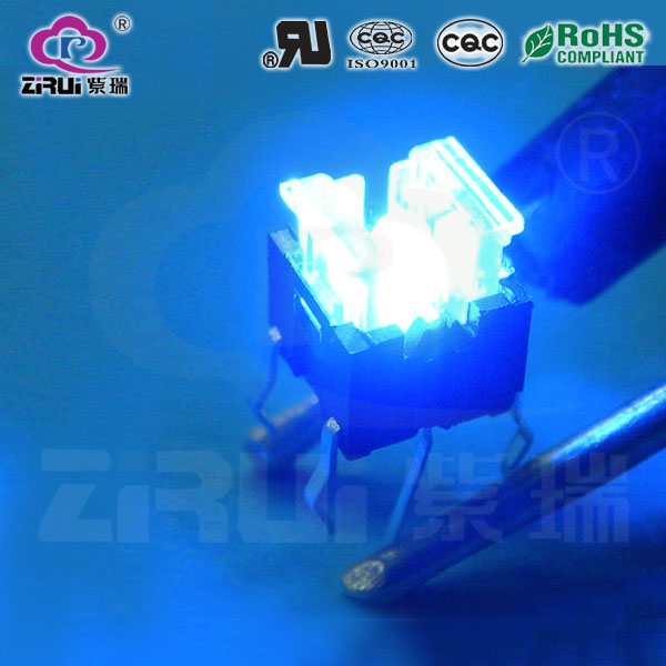 LED Tact Switch KAN66-7.2-CR(BU)