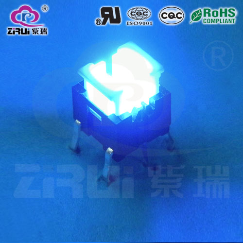 LED Tact Switch KAN66-7.2(BU)